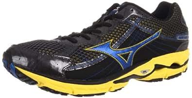 Mizuno Men's Wave Rider 15 Running Shoe,Dark Shadow/Strong Blue/Gypsum,7 D US