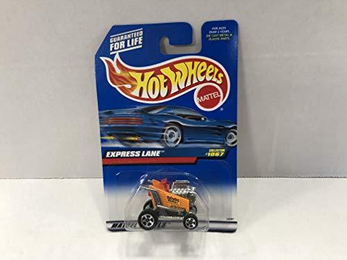 EXPRESS LANE SHOPPING CART Hot Wheels 1999 Mattel 1/64 diecast car No. 1067 -