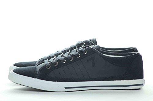 Emporio Armani - Zapatillas de ante para hombre turquesa
