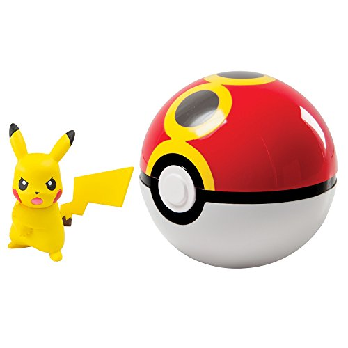 Pokemon Clip And Carry Poke Ball With Pikachu - 3