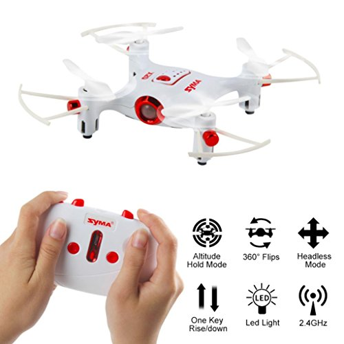Challenger Box Board (SHY-Drone Quadcopter- Syma X20 Pocket 2.4Ghz Mini RC Quadcopter Headless Mode Altitude Hold 6-Axis WIFI FPV RC Selfie Foldable, Flight Stability and Easy to Fly for Beginner, White)