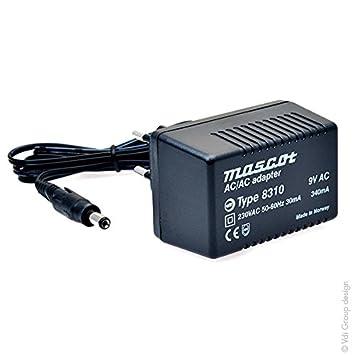 Mascot - Linear power supply 230V 8310 9V 0 34A: Amazon co uk