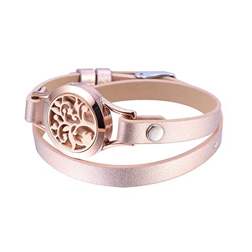 stainless steel aromatherapy diffuser bracelet
