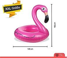 TK Gruppe Timo Klingler Flamingo XXL 120 cm Swim Ring Flamingo ...