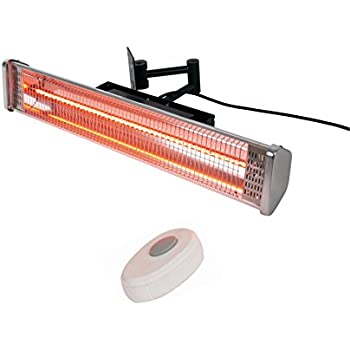 Incroyable AZ Patio Heaters Electric Patio Heater With Remote, Wall Mounted