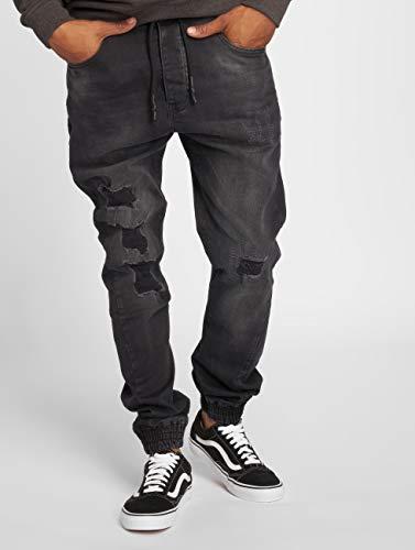 Nero Jeans antifit Just Uomo Rhyse Luke wOTWqW4x07