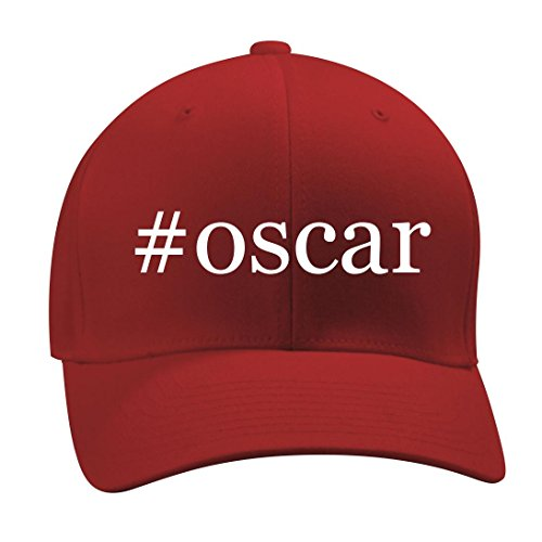 Oscar The Grouch Adult Hat (#oscar - A Nice Hashtag Men's Adult Baseball Hat Cap, Red, Large/X-Large)