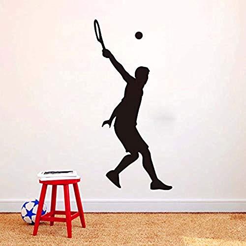 - Profit Decal Home Detachable Tennis Tee Sports Applique Living Room Tv Background Art Decoration Accessories Wall Decals Decor Vinyl Sticker Q11295