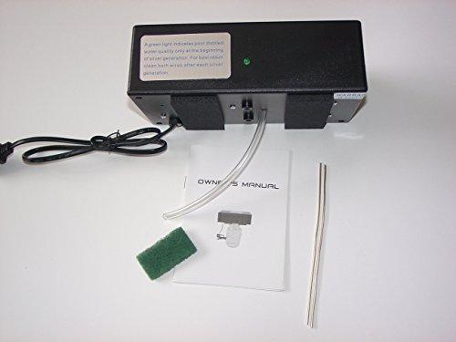Nano Particle Colloidal Silver Generator 105-127V (Black)