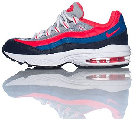 preschool nike air max 95 Nike Air Max 95 Preschool Size UK 2.5 US 3 EU 35 Wolf Grey Crimson ...