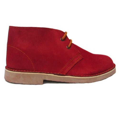 Roamers - Chaussures en daim - rouge