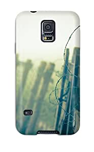 2448443K84839050 For Galaxy S5 Tpu Phone Case Cover(fence)