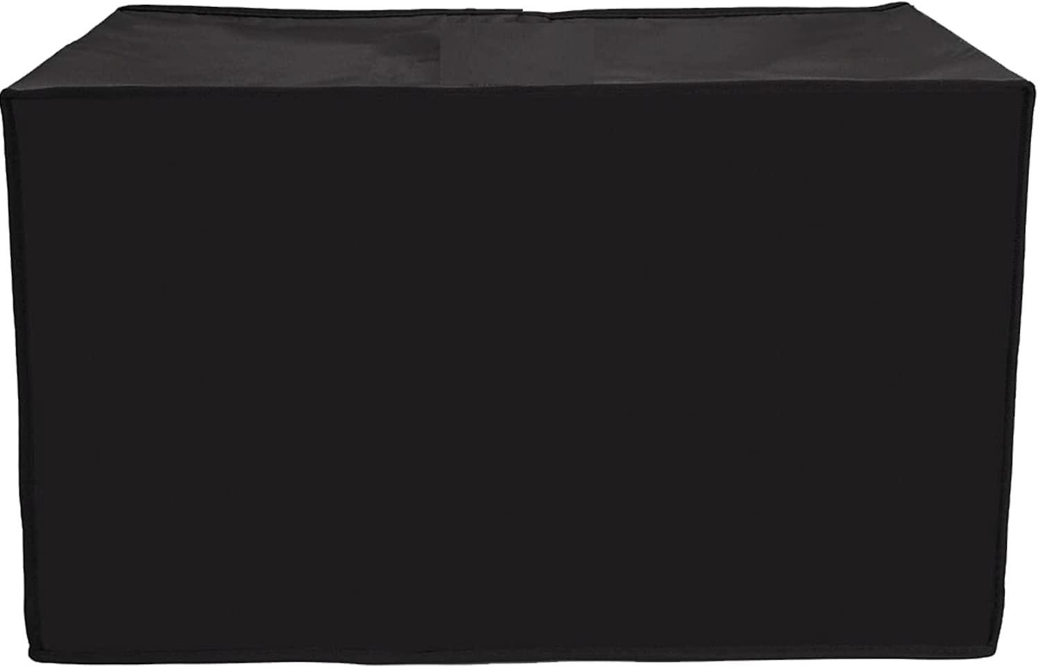 2 Slice Toaster Cover - Kitchen Small Appliance Cover, Dust and Fingerprint Protection, Machine Washable, Black