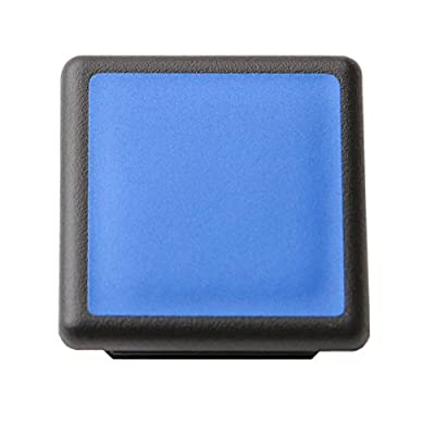 "LFPartS 1 1/4 Inch (1.25"") Trailer Hitch Cover Plug Insert Fits 1 1/4 Inch (1.25"") Receivers (Reflective Blue): Automotive"