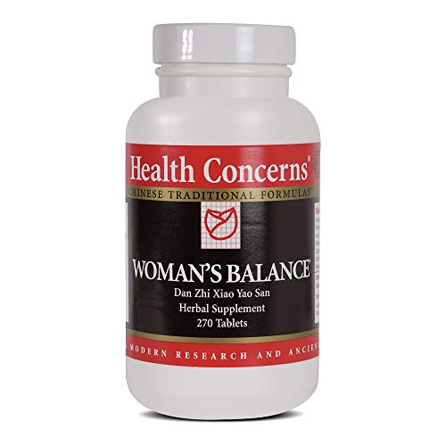 Health Concerns - Woman's Balance - Dan Zhi Xiao Yao San - Supports PMS Relief, Ease of Cramps, Bloating Reduction and Mood Stabilization - 270 Tablets