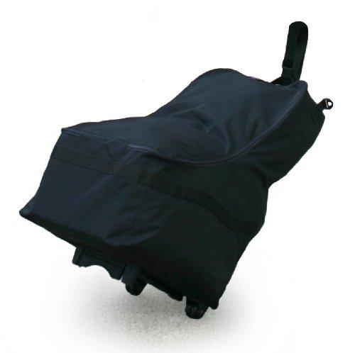 JL Childress Wheelie Car Seat Travel Bag, Black
