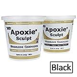 Apoxie Sculpt 4 lb. Black, 2 part modeling compound (A & B)