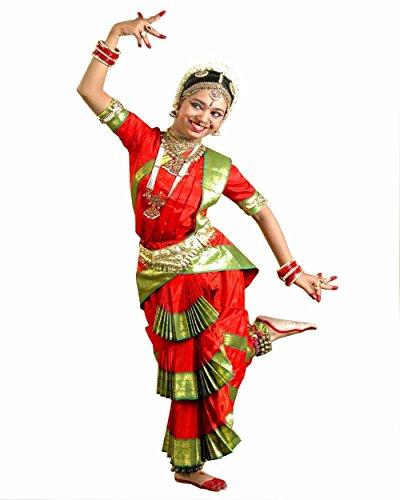 Bharatnatyam Costume (Bharatnatyam Dance Costume)