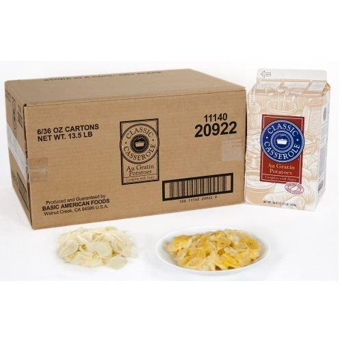 Potato Classic Casserole Au Gratin 6 Case 2., 25 Pound -- 1 Case by Basic American Foods