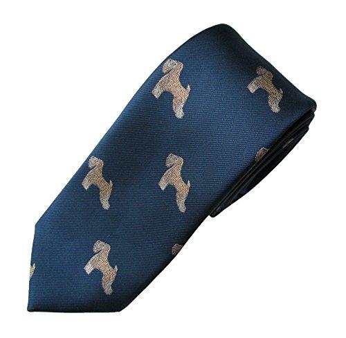 (Soft-Coated Wheaten Tie (Men's Dog Breed Neck Tie))
