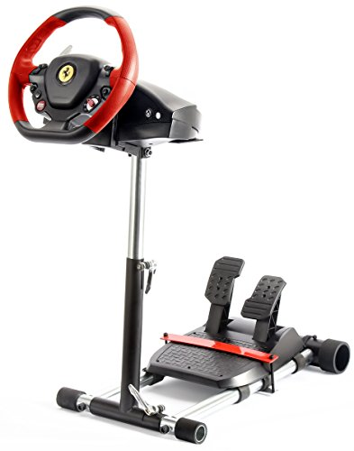 F458 Steering Wheelstand 4 Thrustmaster 458 (Xbox 360 Version), F458 Spider (Xbox One), T80,T100, RGT, Ferrari GT,F430; Logitech Driving Force GT wheel. Wheel Stand Pro V2: Wheel/Pedals Not included