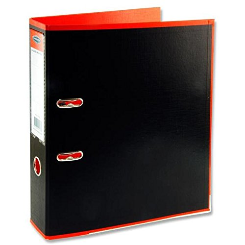 Premier Stationery D2071777 A4 Lever Arch File Durable PP Cover - Multi-Colour (Pack of 20)