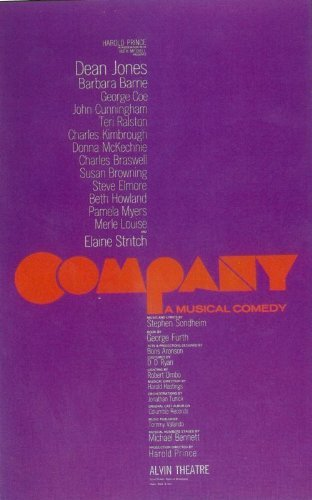 Company (Broadway) POSTER Movie (11 x 17 Inches - 28cm x 44cm) (1970)