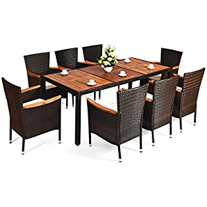 41JClbjRAUL._SS300_ Wicker Dining Tables & Wicker Patio Dining Sets
