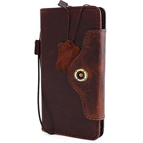 Genuine Vintage Oiled Leather Hard Case Fit Huawei Nexus 6p Wallet Handmade 6 P Luxury Handmade Retro (Nexus 6 Love Case)