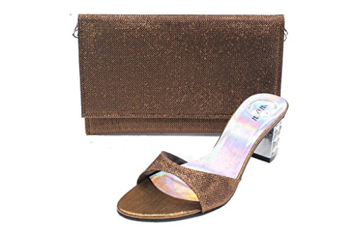 Marron amp; pour Walk femme Sandales UK Wear HxwSYqS