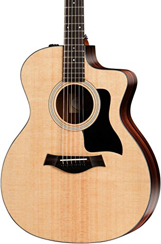 - Taylor 100 Series 2017 114ce Rosewood Grand Auditorium Acoustic-Electric Guitar Natural