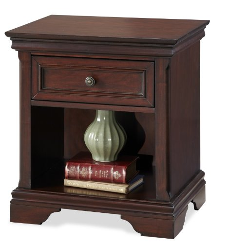 Lafayette Cherry Night Stand by Home Styles - Maple Contemporary Night Table