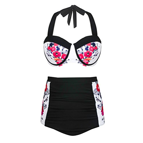Happybai Vintage Bikini Womens Swimwear product image