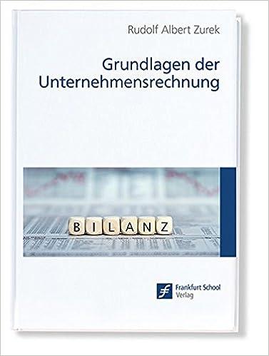 Book Grundlagen der Unternehmensrechnung