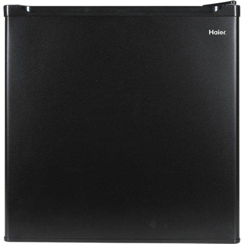 Haier HCR17B Refrigerator/Freezer, 1.7-Feet Cubic, Black