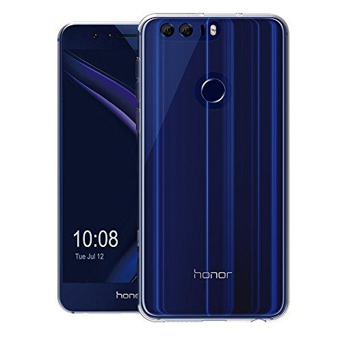 Huawei Honor 8 Hülle, AICEK Transparent Silikon Schutzhülle für Honor 8 Case Crystal Clear Durchsichtige TPU Bumper Huawei Honor 8 Handyhülle