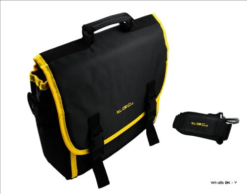 T Slate Yellow Bag amp; for Mobile Style Tablet Elec G Case Trim Messenger Black fz7Axwq6