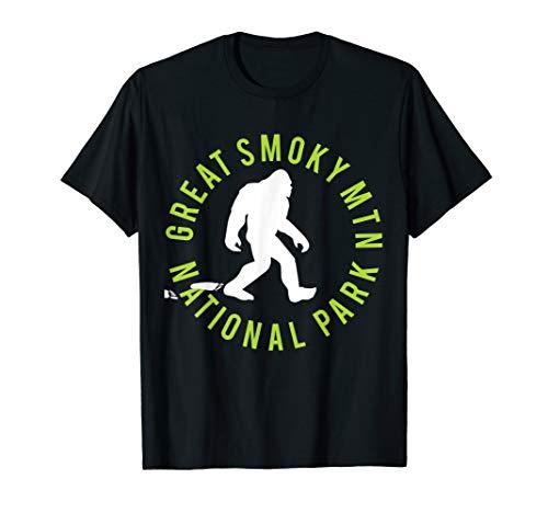 - Great Smoky Mtn. National Park Bigfoot T-shirt