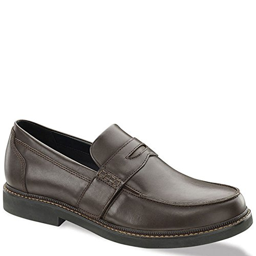 (Apex Men's Lexington Strap Loafer Sneaker, Brown, 9 XW US)