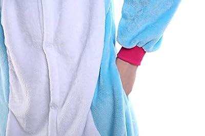 Yutown Adult Unicorn Pajamas Animal Costume Cosplay Onesie Halloween Gift