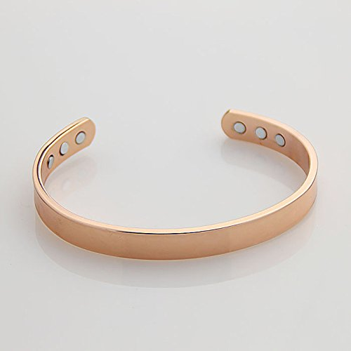 Plated Healthy Magnetic Bracelet Adjustable