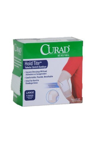 (Curad Hold Tite Tubular Stretch Bandage Large Dressing (5)