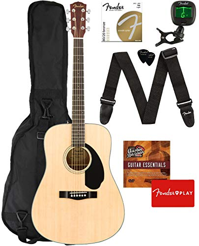 fender acoustic guitar small - 8