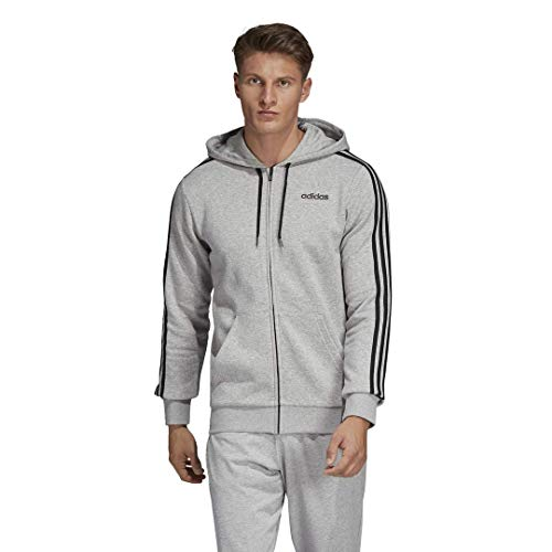 adidas Men's Essentials 3-Stripes Fleece Hoodie
