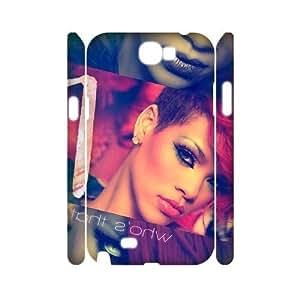 C-EUR Rihanna Customized Hard 3D Case For Samsung Galaxy Note 2 N7100