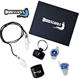 New Technology High Fidelity PRO+ Earplugs by EarSlugs | Musicians Concerts Noise Sensitivity