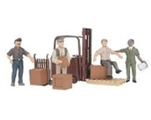 Woodland Scenics A2744 Workers with Forklift O WOOU2744 for sale  Delivered anywhere in USA