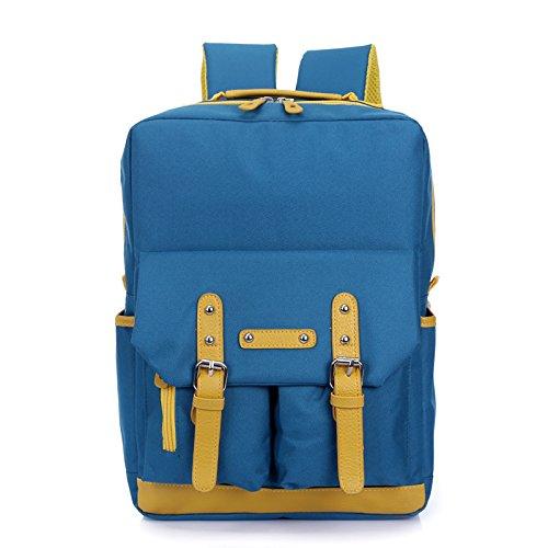 Bergsteigen wandern Rucksack Tasche Outdoor Klettern Bergsteigen Reisen Camping wasserdichte Unisex Multifunktions Taschen mit Laptop , deep blue , 123