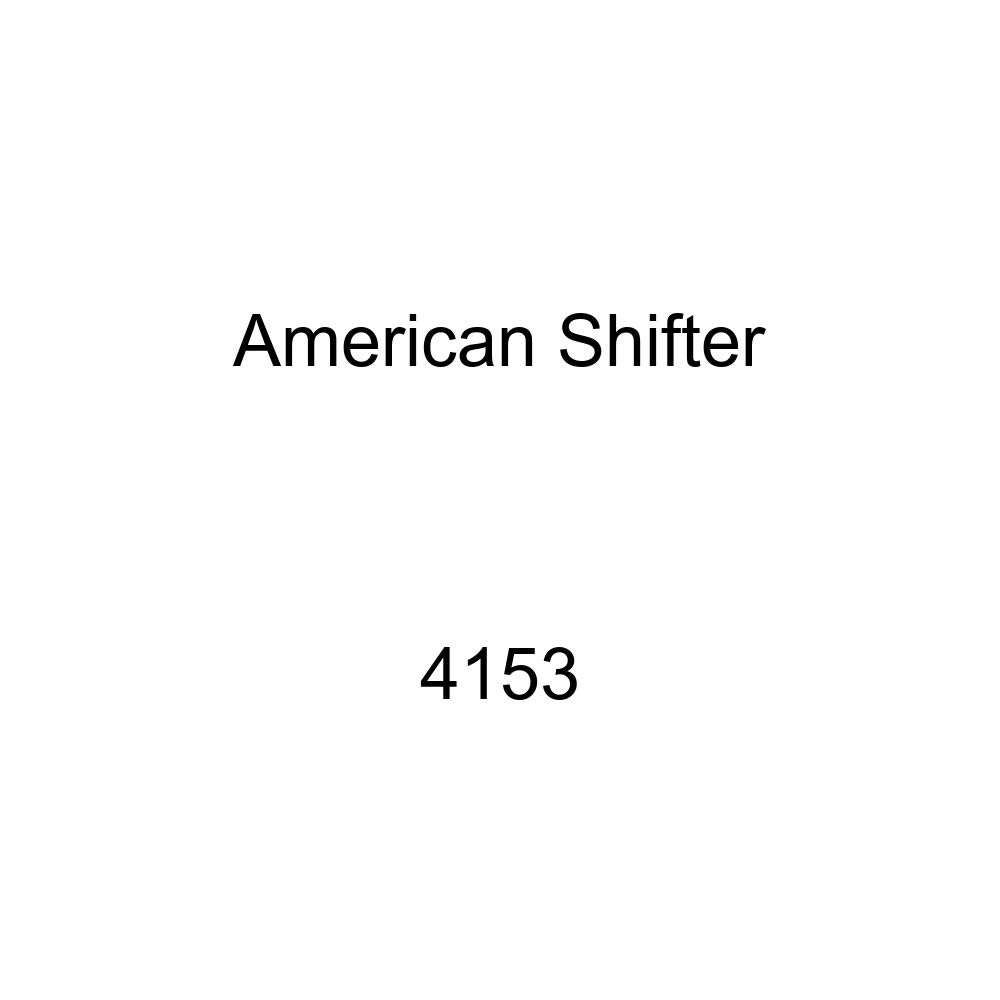 American Shifter 4153 Stripe Shift Knob with M16 x 1.5 Insert Black Shift Pattern Fcking Fast Style 11n