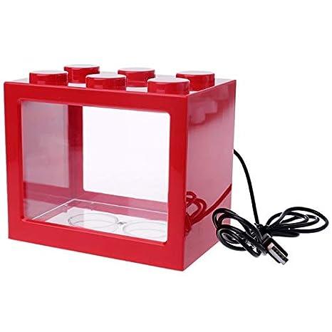 Summerwindy Acuario USB Lámpara de Luz Led Tanque de Peces Oficina ...
